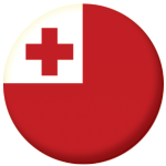 Tonga Country Flag 58mm Button Badge